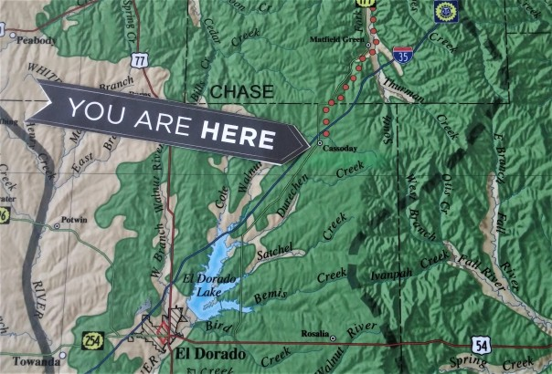You Are Here arrow