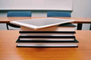 bookcase books classroom college